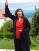Geneviève Wendelski des moutons dans le ciel